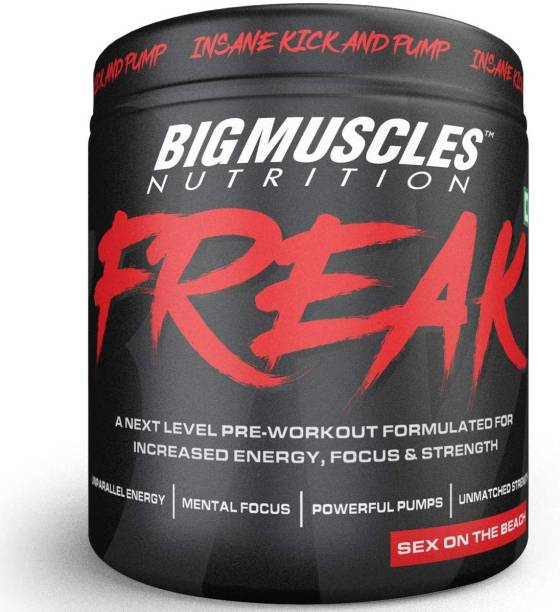 BIGMUSCLES NUTRITION Freak Sex on the Beach Pre-workout 30 Servings BCAA