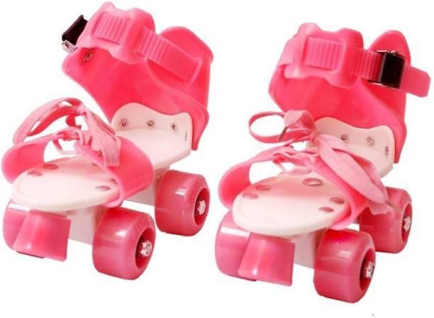 PS Aakriti Skates Shoes For Kids / Childrens - UNISEX In-line Skates - Size 12-16 UK (Multicolor) Quad Roller Skates - Size 4-7 UK In-line Skates - Size 5-7 UK