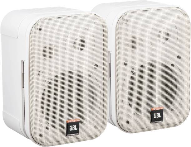 "JBL Professional Control 1 Pro - 5"" Two-Way Professional Compact Wall Mount Loudspeaker 150 W ( Pair, White ) 150 W Home Theatre"