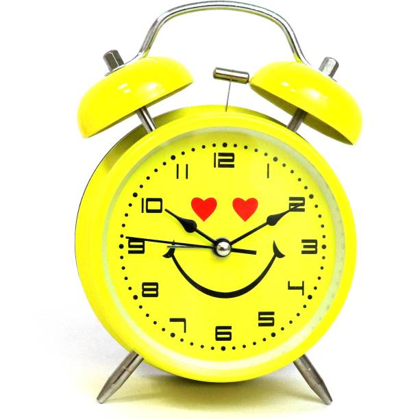 Flipkart SmartBuy Analog Yellow Clock