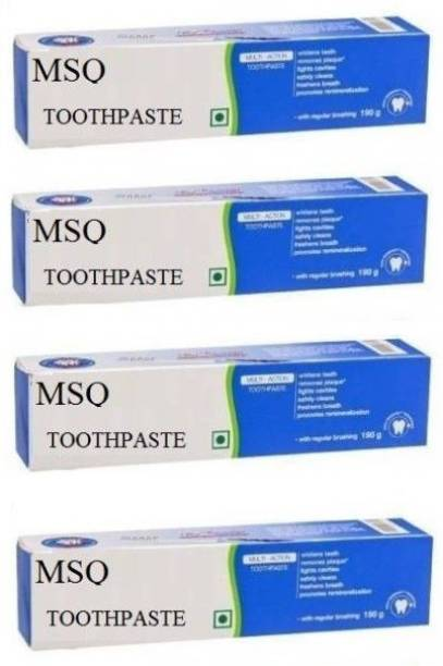 MSQ Multi Action Toothpaste Toothpaste