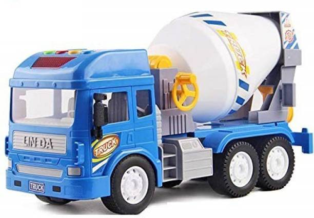 Annie Cement Mixer Truck |Construction Vehicle Big Size Friction Powered Toy