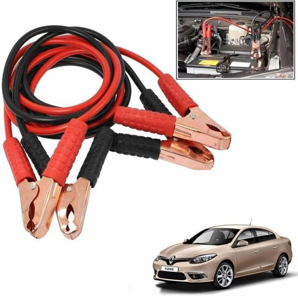 Auto Oprema Heavy Duty Jumper Battery Cables 10Ft Booster Jump Starter 10 ft Battery Jumper Cable (Pack of 1) 10 ft Battery Jumper Cable