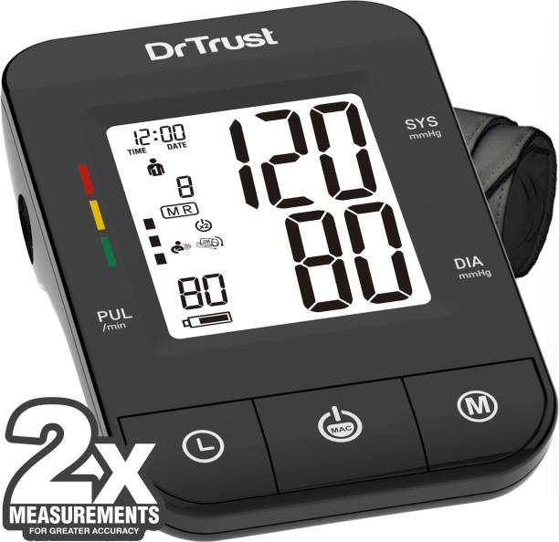 Dr. Trust (USA) Fully Automatic Comfort Digital Blood Pressure Checking Machine with MDI Technology Bp Monitor