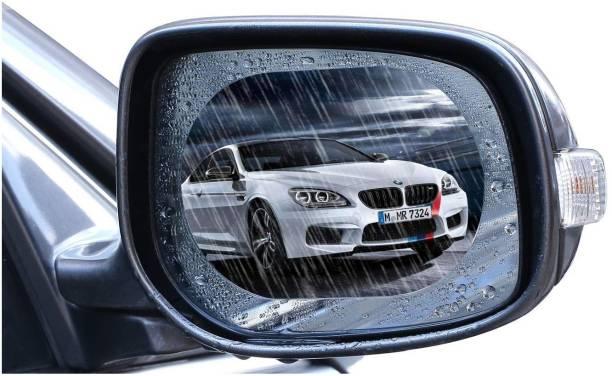 IndiForce Car Mirror Waterproof antifog Films 95x135mm Car Mirror Rain Blocker