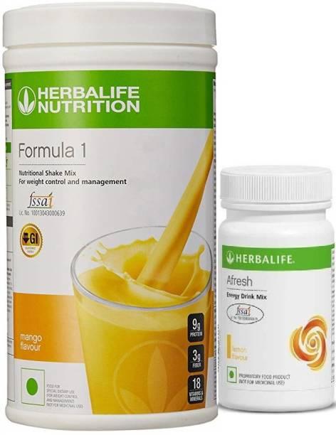 HERBALIFE FI MANGO SHAKE WITH A1 LEMON Nutrition Drink