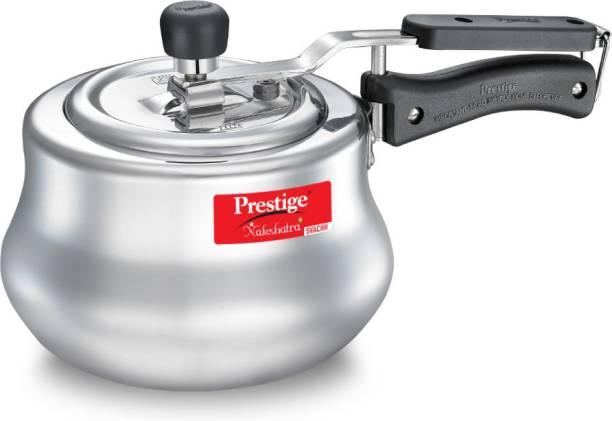 Prestige Svachh Nakshatra Plus Handi 3 L Induction Bottom Pressure Cooker Aluminium
