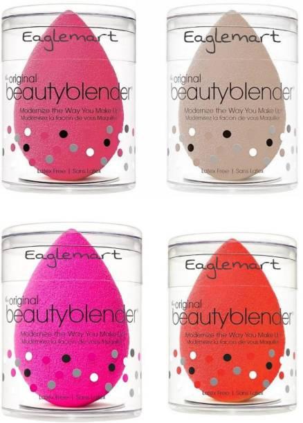 eaglemart Beauty Blender Premium Face Sponge pack of 4