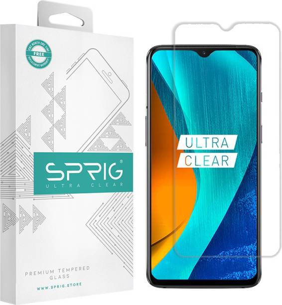 Sprig Tempered Glass Guard for Samsung Galaxy M12