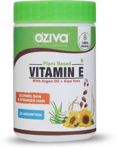 OZiva Plant Based Vitamin E Capsules