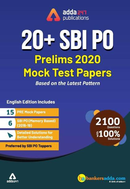 Sbi Po 2020 Prelims Mock Papers