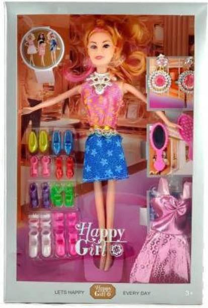 Tenmar HAPPY GIRL DOLL (Multicolor)