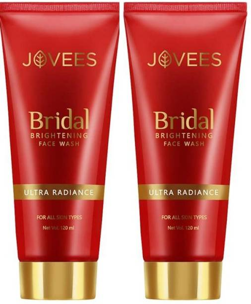 JOVEES Bridal Brightening  240 ml -Pack of 2 Face Wash