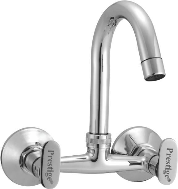 Prestige Brass Snow Sink Mixer Sink Mixer Chrome Silver platet Tap Faucet Bib Cock Angle Cock Pillar Tap Mixer Faucet Kitchen Mixer Faucet