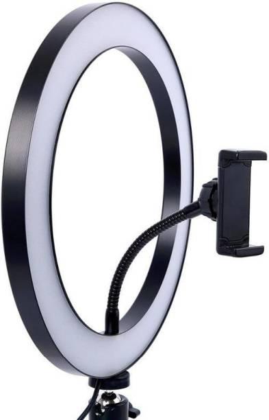 LANIX 26cm Dimmable LED Studio Camera Ring Light Phone Video Light Lamp Selfie Ring Flash
