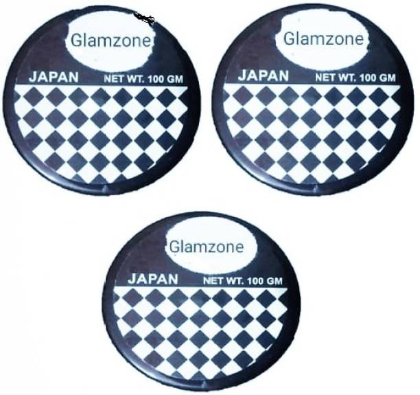 Glamzone Combo Styling Hair Wax For Men Strong Hold Hair Wax (100 g) Pack Of 3 Hair Gel