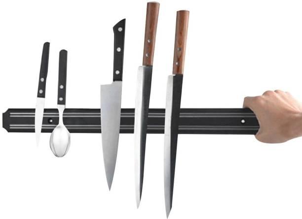 NYALENTERPRISE Wall Mount Magnetic Knife Storage Holder Chef Rack Strip Utensil Kitchen Tool Kitchen Organiser Magnet Pack of 1