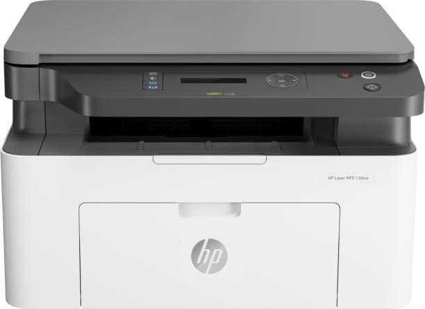 HP MFP 136nw Multi-function Monochrome Laser Printer