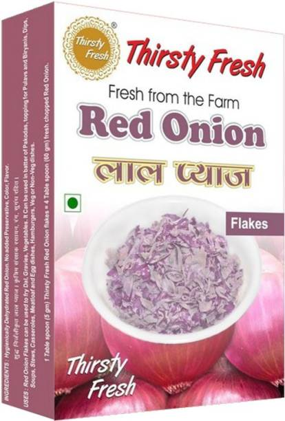 Thirsty Fresh Red Onion Flakes - Dehydrated
