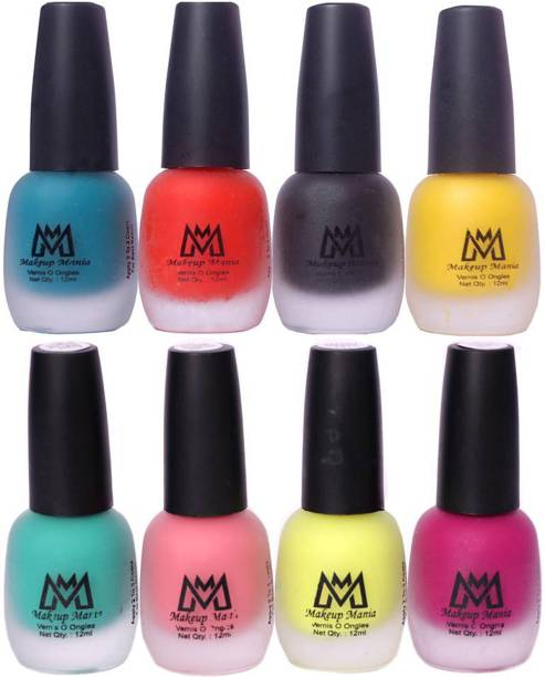 Makeup Mania (MM # 20-65) Green, Orange, Black, Yellow, Sea Green, Pink, Parrot Green, Magenta