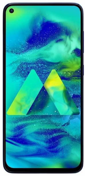 SAMSUNG Galaxy M40 (Midnight Blue, 128 GB)
