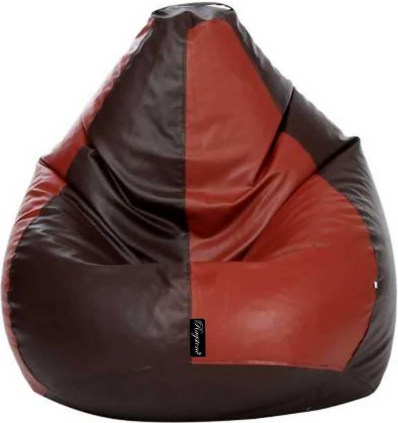 RAGSTONE XXXL Tear Drop Bean Bag Cover  (Without Beans)