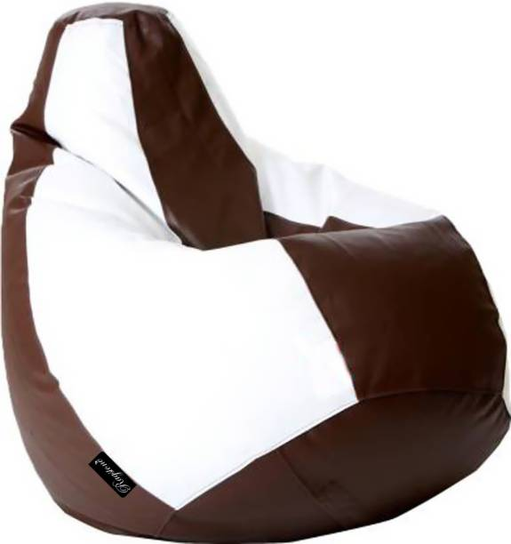 RAGSTONE XXL Tear Drop Bean Bag Cover  (Without Beans)