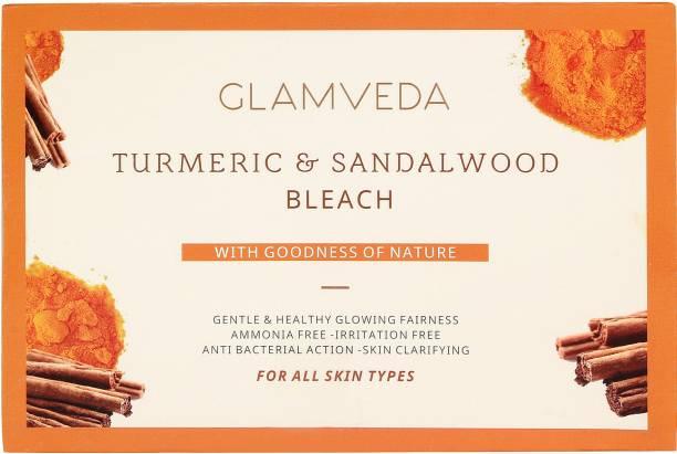 GLAMVEDA Turmeric & Sandalwood Face & Body Bleach Creme'