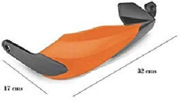 Love Me Deflector Lever Protector FOR NS200/AS200 (ORANGE) Handlebar Hand Guard Handlebar Hand Guard