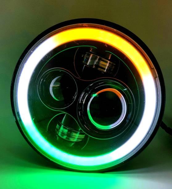 Flipkart SmartBuy LED Headlight For Harley Davidson, Royal Enfield, Mahindra Universal For Bike, Bullet 350, Thar, Super|Thunderbird