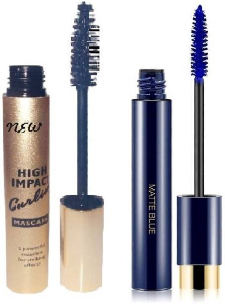 ADJD Best High Impact Curling Long & Thick Lashes Jet Black & Blue Mascara 20 ml