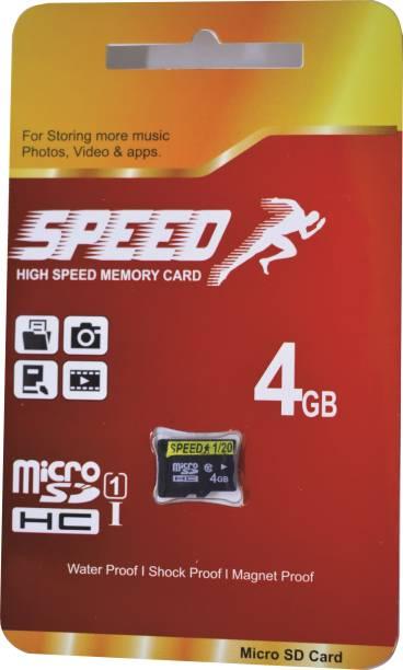 MMC Ultra U1 4 GB MicroSD Card Class 6 85 MB/s  Memory Card