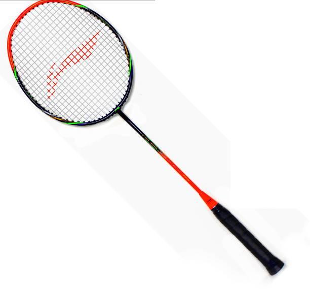 LI-NING G-Tek 2020 Black, Orange Strung Badminton Racquet