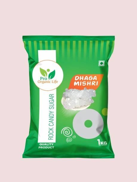 PRO ORGANIC LIFE dhaga mishri pack of 10 Sugar