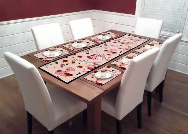 mavihs Brown Table Linen Set