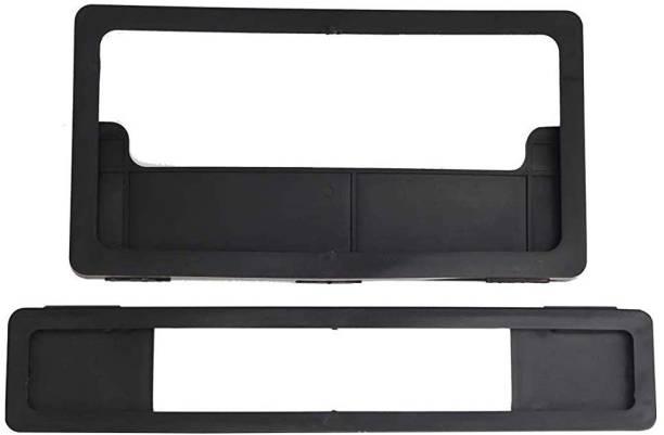 JAY BALAJI Bike Number Plate Folding Type Frame (Front & Rear) Bike Number Plate