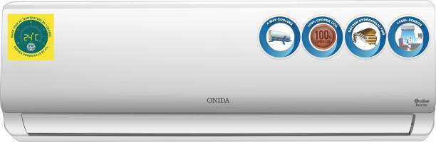 ONIDA 1 Ton 3 Star Split Inverter AC  - White