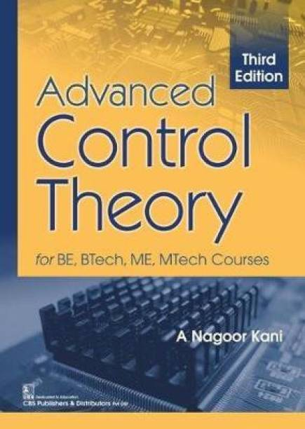 Advanced Control Theory for BE, BTech, ME, MTech Courses
