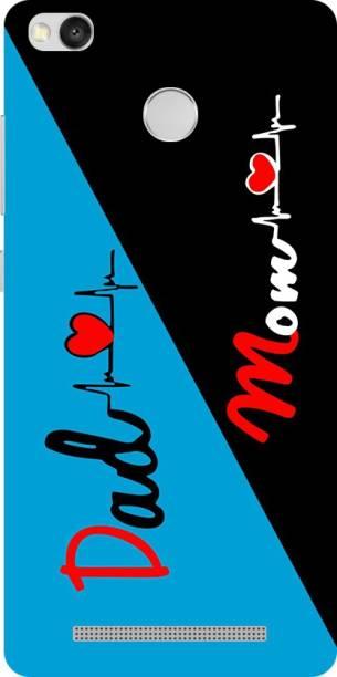 Puri Back Cover for Mi Redmi 3S Prime
