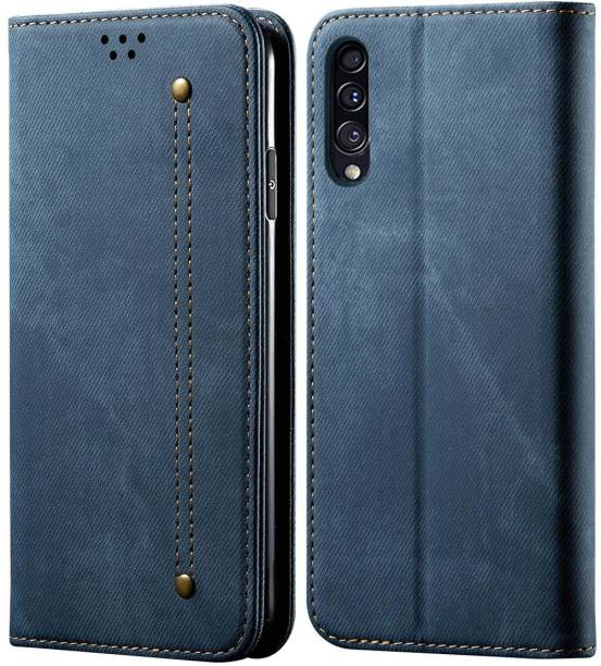 Swan Wallet Case Cover for Samsung Galaxy A30S / Galaxy A50 / Galaxy A50s