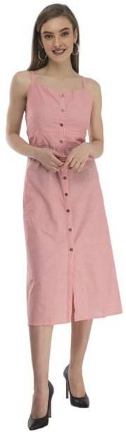hpd Collection Women Shirt Pink Dress