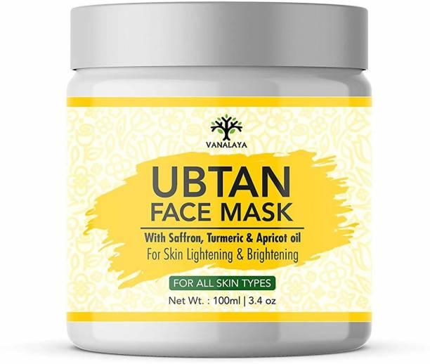 Vanalaya Ubtan face pack, face mask for detan fairness skin brightening & glowing skin 100ml
