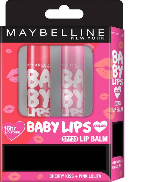 MAYBELLINE NEW YORK Baby Lips Pink Lolita + Cherry Kiss