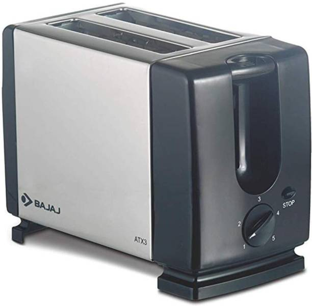 BAJAJ ATX 3 750-Watt Auto Pop-up Toaster 750 W Pop Up Toaster