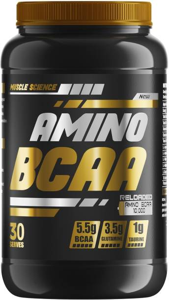 Muscle Science AMINO BCAA Reloaded, 30 Serving BCAA