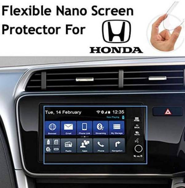 Sheel Grow Edge To Edge Tempered Glass for Honda New City 2017 Navigation and Infotainment System