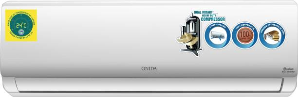 ONIDA 1.5 Ton 5 Star Split Dual Inverter AC  - White