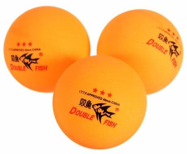 Waterwood Double Fish ITTF Approved 3-Stars Table Tennis Ping Pong Ball Table Tennis Ball