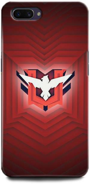 BARMANS Back Cover for Oppo A3s / Free Fire, Free Fire logo, Free fire game