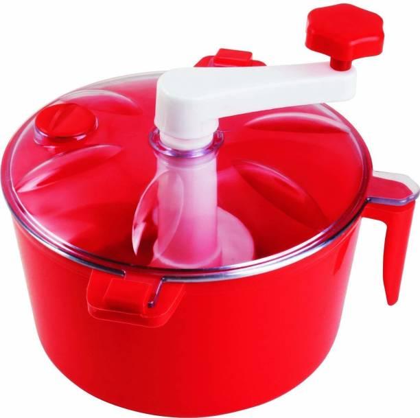 WDS Non Electric Dough Maker Machine Atta Maker for Kitchen (Plastic) Plastic Automatic Dough Maker